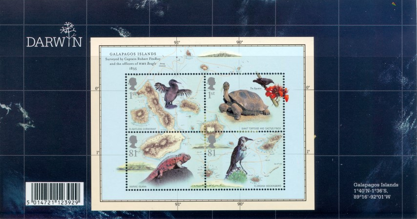 2009 Galapagos Island Stamps Sets