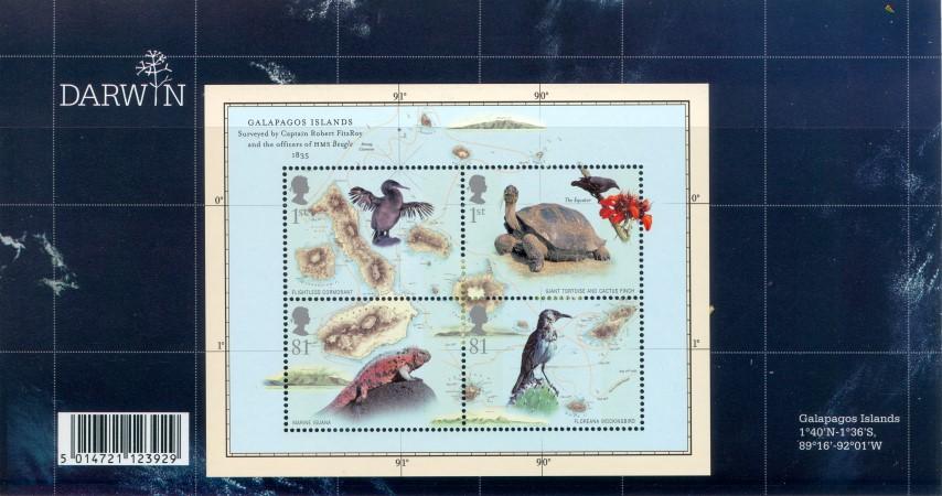 2009 Galapagos Island Stamps Sets